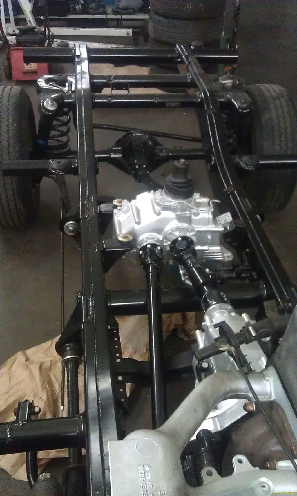 Mercedes G-Modell Rahmen - STM KFZ-Service